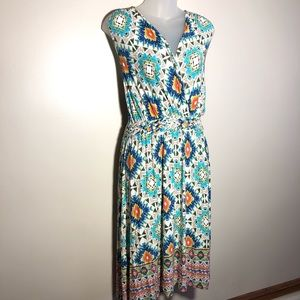 XXL Spense Plus Sleeveless Maxi Dress